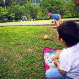 摂津峡公園の桜広場で子連れピクニック!